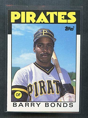 1986 Topps Traded #11T Barry Bonds Pittsburgh Pirates Rookie Card Ships in a Brand New Top Loader