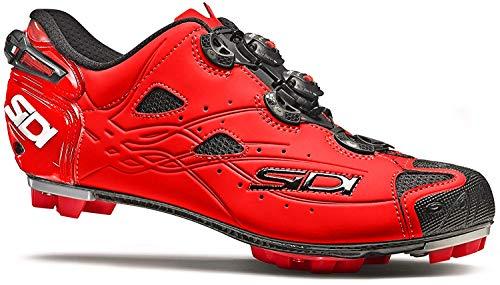 Sidi Tiger Mountain Bike MTB Shoes Matte Red (44)