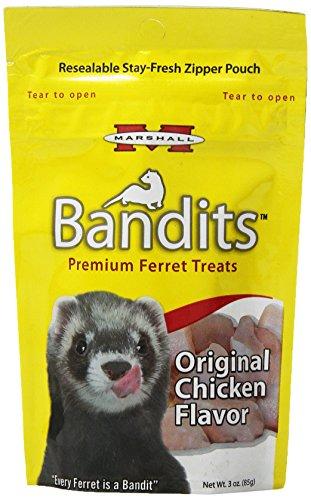 Marshall Bandits Furet Treat, 85 Gram, Poulet