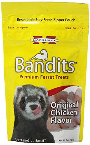 Marshall Bandidos Ferret Treat 3-Ounce Pollo