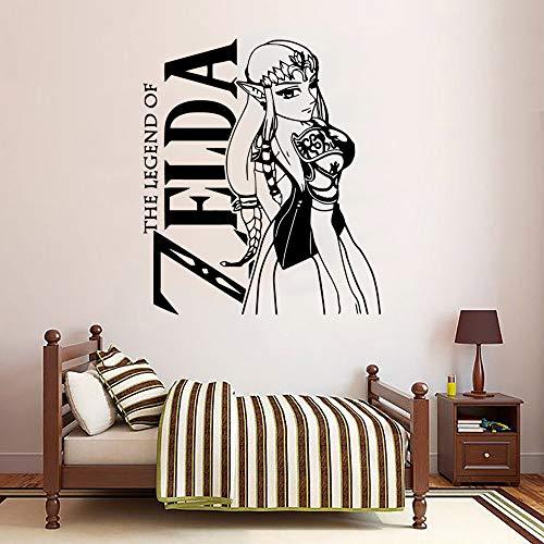 yaoxingfu Nette Legende Von ZeldaWandaufkleber SteuernDekor Dekoration Wohnzimmer Schlafzimmer Hintergrund Wandkunst Aufkleber Drop Ship57 cm X 66 cm
