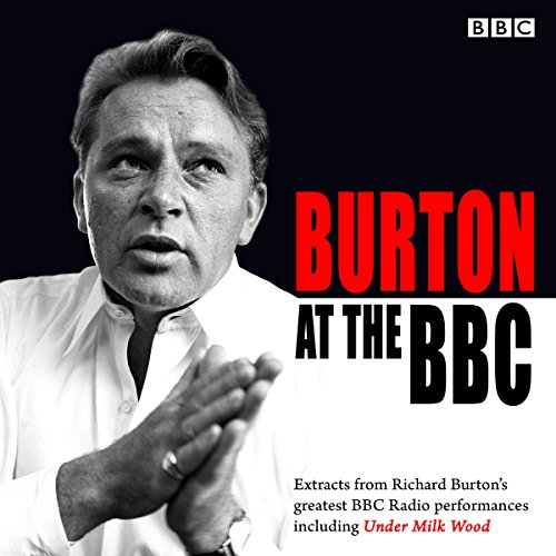 Burton at the BBC audiobook cover art