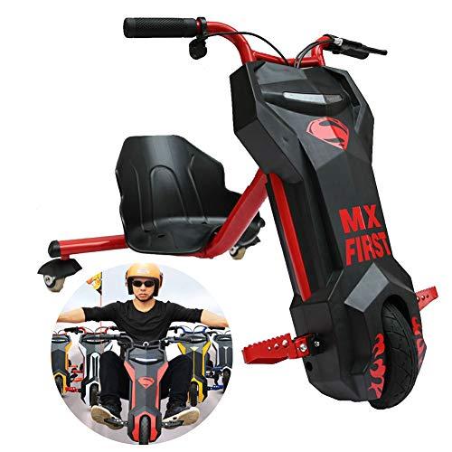Drift-Trike Elektro Elektrisches Dreirad Für Kinder Drift Trike 360 Dreirädrige Kraft Reiter ABS-Material, Kinder Jungen Und Mädchen, Ages 6 Years+