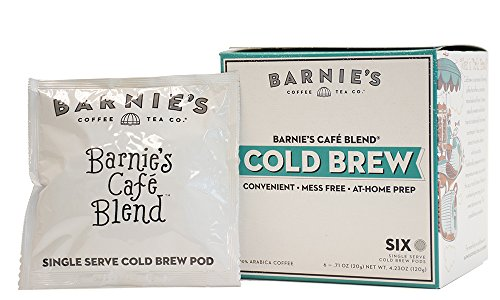 Barnie's Coffee & Tea, Barnie's Café Blend Cold Brew, 4.23 Ounce