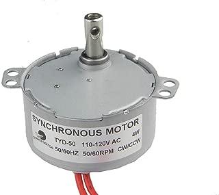 CHANCS Synchronous Electric Motor TYD-50 110V AC 50-60RPM CW/CCW 4W Torque 0.4Kg.cm