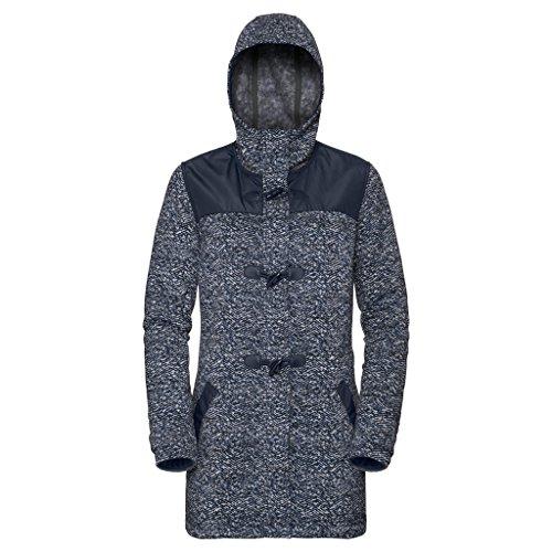 Jack Wolfskin W Belleville Coat Blau, Damen Wintermantel, Größe M - Farbe Midnight Blue All Over