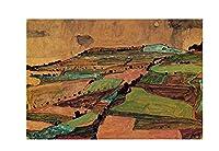 エゴン・シーレアートポスター 絵画 インテリア おしゃれ 壁飾り キャンバスウォールアート モダンアート 部屋飾り 写真 壁 に 飾る インテリア(60x90cm24x35inch、フレームなし)