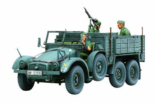 The Hobby Company Tamiya 300035317 - Modellino Camion Leggero Tedesco Krupp Protze (3) seconda Guerra Mondiale, Scala 1:35