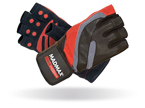 MAD MAX Men' s Extreme Cintura, Uomo, Extreme, Black/Red, M