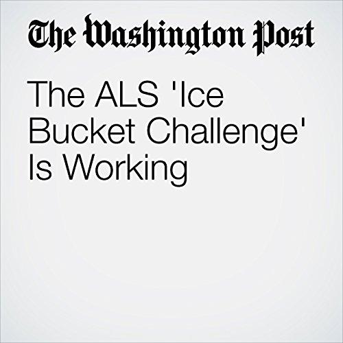 The ALS 'Ice Bucket Challenge' Is Working cover art