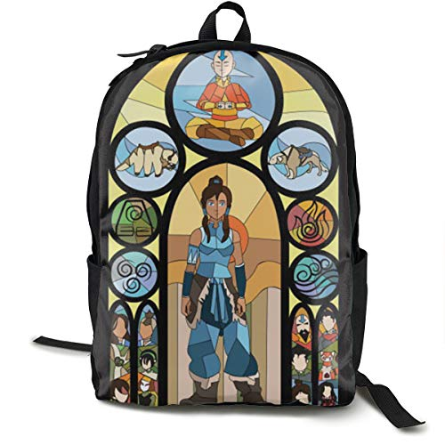 JINGYUSHANGMAO Avatar The Last Legend Airbender of Korra Aang Klassische Mode Kinder Praktische Schultasche F¨¹r M?nner Und Frauen