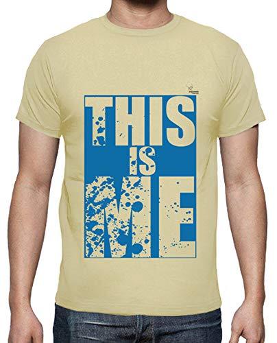 tostadora - T-Shirt das Ist Mir B - Manner Creme S