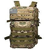 Tesinll Tactical Backpack 45 Liters Army Backpack Military Backpack Hunting Backpack Bug Out Bag