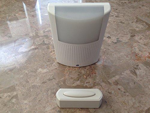Hampton Bay Wireless Plug-In Door Bell Night Light Kit HB-7776-02