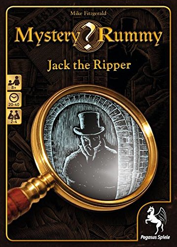Pegasus Spiele 18230G - Mystery Rummy - Jack the Ripper