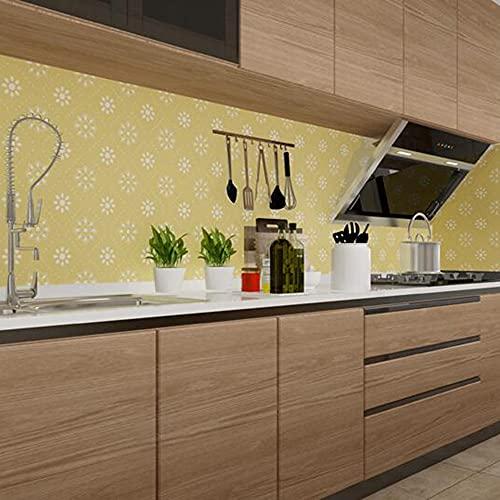 XIAOLIN Peel And Stick Wall Tile Pegatinas Para La Cocina, Impermeable Backsplash Tiles 3d Vinyl Adhesive Tiles Decor Wallpaper(Color:07)
