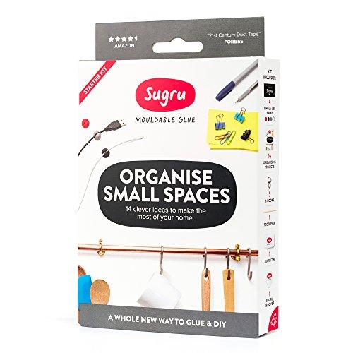 Sugru Moldable Glue  Organise Small Spaces Kit