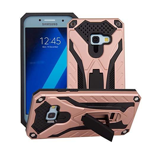 HUOGUOYIN for Samsung Galaxy A3 2017 A320 Antiurto Dual Layer 2-in-1 Armatura PC + TPU Protettiva Dura Caso del Basamento Compatibile Case Shockproof (Colore : Oro Rosa)