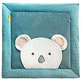 Doudou et Compagnie - Tapis d'Eveil Bébé Koala - Tapidou - Bleu - 100 x 100 cm - Yoca Le Koala - DC3684