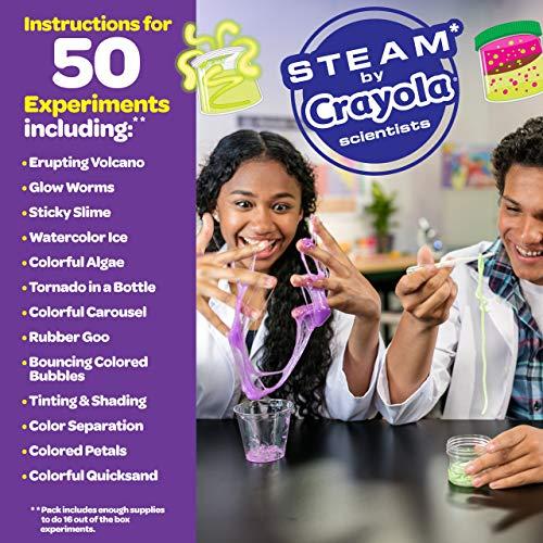 Crayola Color Chemistry Set For Kids, Gift for Kids, Ages 7, 8, 9, 10