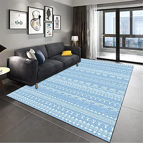 Inicio Suave Y Agradable A La Piel Estilo Marroquí Alfombra Rectangular Grande Manta De Noche para Dormitorio 140x200cm