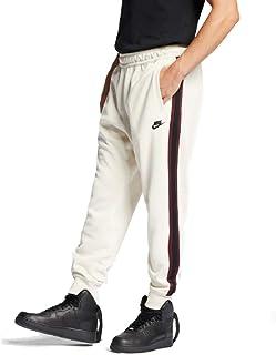 c03df7437 Nike Sportswear Mens Joggers Light Cream/Night Maroon/White AR2255-272