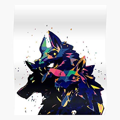 Cerberus Character Art Hades Artwork Fan I Fsgteam- Impressive and Trendy Poster Print decor Wall or Desk Mount Options