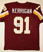 Ryan Kerrigan Autographed Maroon Pro Style Jersey- JSA W Authenticated