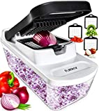 Vegetable Chopper Dicer Onion Chopper - Food Chopper Vegetable Cutter Veggie Chopper Onion Cutter Vegetable Dicer Salad...