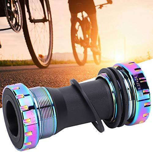 BOLORAMO Eje de pedalier, pedalier de Bicicleta Resistente para la Rosca de 1,37 con un diámetro Interior de 24 mm (0,9 Pulgadas) para Bicicleta de Carretera de montaña