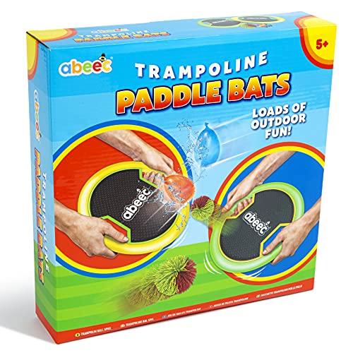 abeec Trampoline Paddle Bats – 2 x Trampoline Paddle Bats, 1 x Ball and...