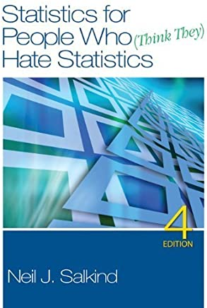 Statistics for People Who (Think They) Hate Statistics [With DVD] by Neil J. Salkind (2010-11-01)