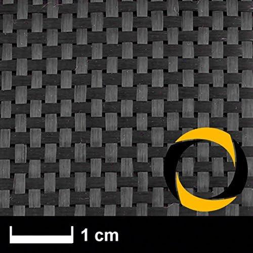 Ascending Composites Kohlegewebe 160 g m2 (Non Aero, Leinwand) 120 cm, Rolle 2 m