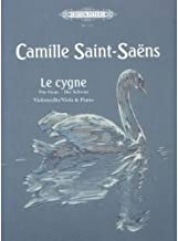 Saint-Saens, Camille - The Swan from Carnival of the Animals For Cello and Piano Peters Edition