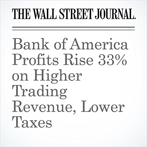 Bank of America Profits Rise 33% on Higher Trading Revenue, Lower Taxes copertina