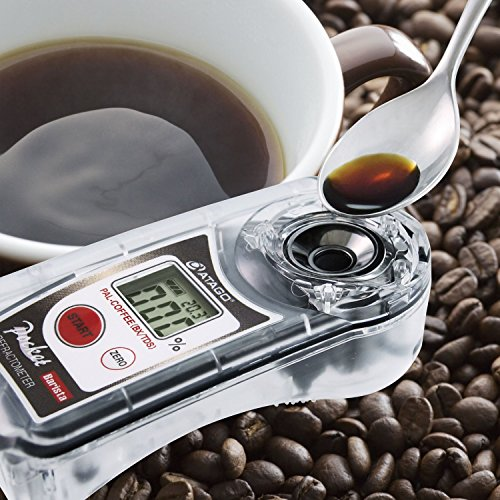 Pocket coffee densitometer...