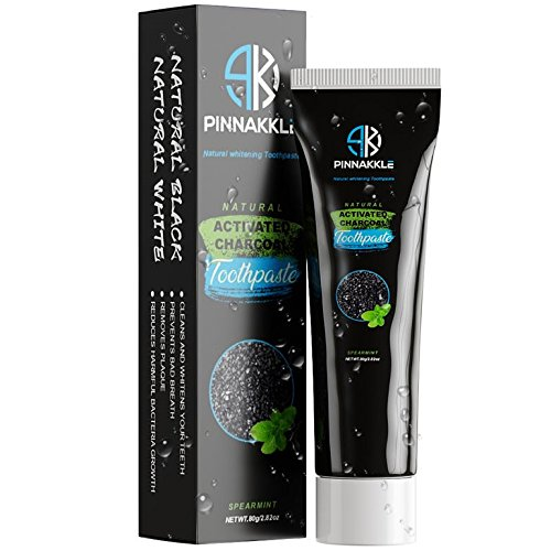 Activated Charcoal Teeth Whitening Toothpaste   Eliminates Bad Breath   Better Than Charcoal Powder, Strips, Kits, Gel