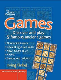 Games : Discover and Play 5 Famous Ancient Games (British Museum Activity Books)