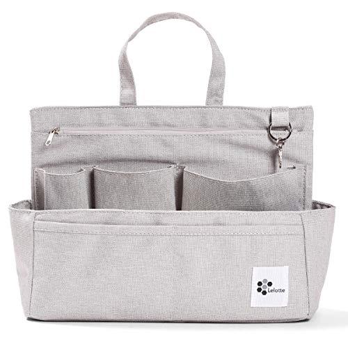 バッグインバッグトートバッグ用インナーバッグ横型軽量自立インナーポケットトートバッグ収納IN-YOKO03