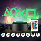 Xpassion Playstation Lampe mit Farbwechsel Funktion 16 Farben LED-Tisch-Schreibtisch-Lampen...