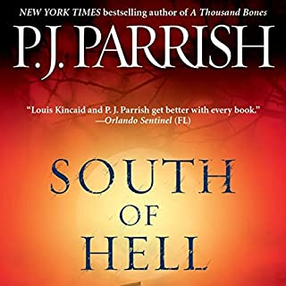 South of Hell  audiobook cover art