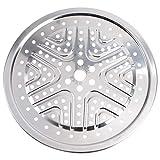 Luxshiny 1 pieza de acero inoxidable enlatado soporte olla a presión recipiente suministros de cocina