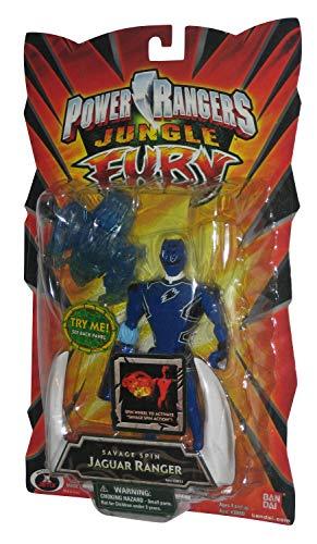 Power Rangers Jungle Fury 5' Animalized Figures - Jaguar Ranger