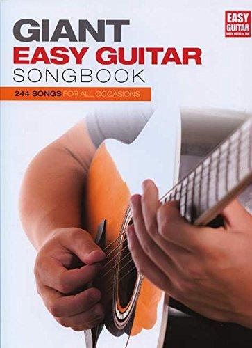 The Giant Easy Guitar Songbook: Noten für Gitarre
