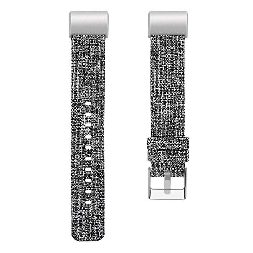 Chainfo kompatibel mit Fitbit Charge 2 Armband Woven Armbänd, Ersatzband Gewebte Stoff Armbands Zubehör Sport Armbänder (Pattern 5)