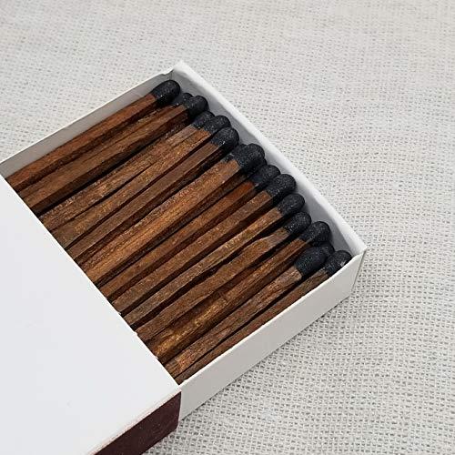 4' Matchsticks - Black on Cedar