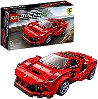 LEGO SpeedChampions FerrariF8Tributo, Giocattolo Ispirato alle Corse,con Minifigura del Pilota, Set da Costruzione...