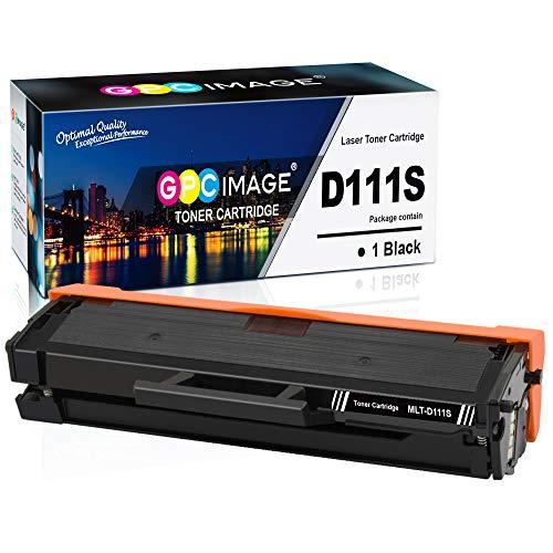 GPC Image MLT-D111S Toner Patronen Kompatibel für Samsung MLTD111S, D111, 111S Druckerpatrone für Samsung Xpress M2026 M2026W SL-M2070 SL-M2070W M2070F M2070FW M2020 M2020W M2022 M2022W Laser Drucker