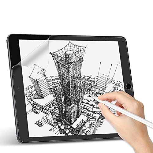 Svanee Paper-Feel Matte Schutzfolie für iPad 10,2 (iPad 8 / iPad 7 Modell 2020/2019), [2 Stück] Anti-Reflexion & Blendfrei, Unterstützt Pencil, zum Schreiben, Zeichnen & Notizen machen