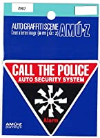 東洋マーク CALL THE POLICE ステッカー 2907